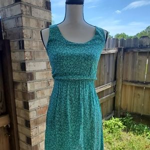 Teal high low dress 👗
